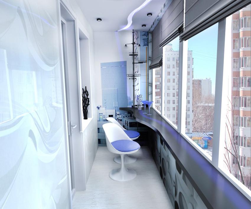 Проект: балкон